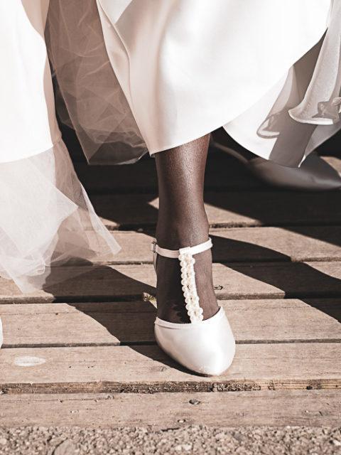 Schuhe Sepia